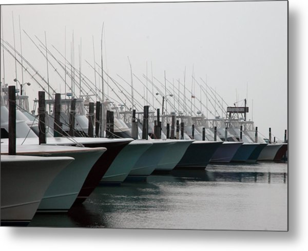 Oregon Inlet Metal Print