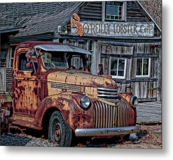 O'reilly Lobster Pound Metal Print