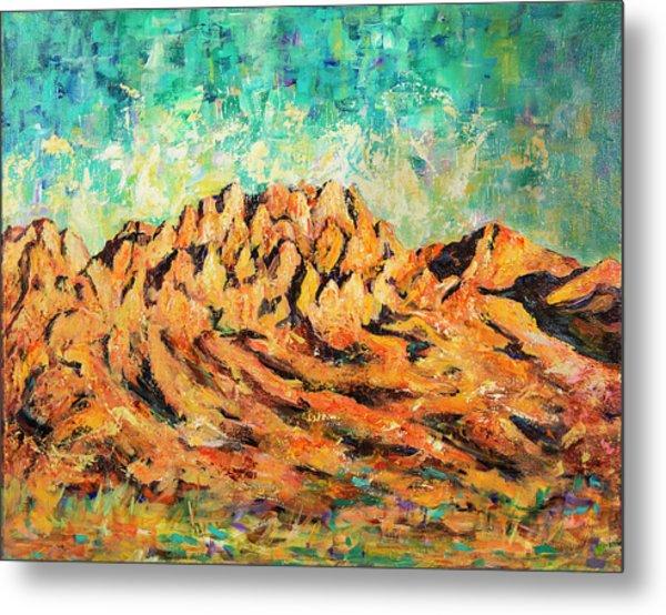 Organ Mountains IIi Metal Print