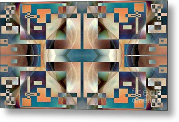 Organic Symetry Metal Print by Jack Dillhunt