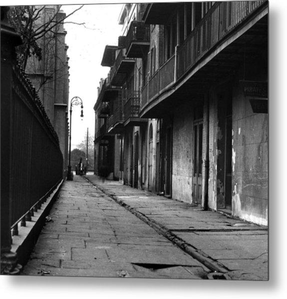 Orleans Alley Metal Print