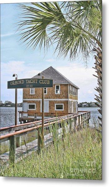 Ormond Yacht Club Metal Print