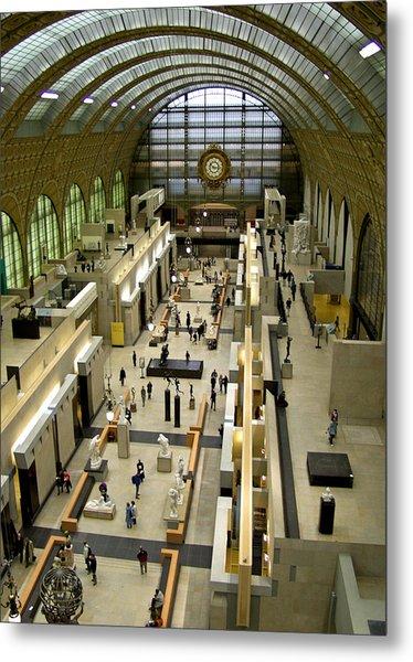 Orsay Museum Metal Print