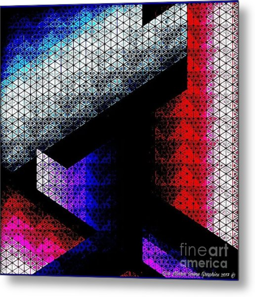 Orthogon Disco Metal Print