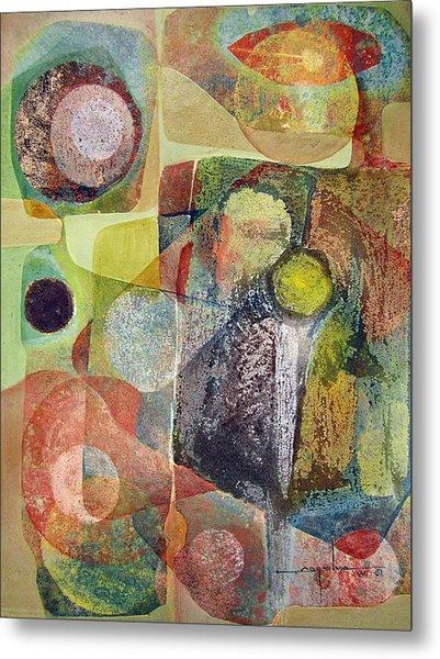 Os1961dc002bo Abstract Landscape Potosi 17x22.25 Metal Print by Alfredo Da Silva