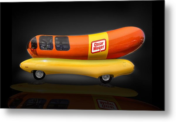 Oscar Mayer Wiener Mobile Metal Print