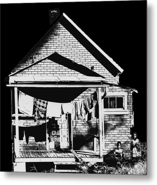 Other Side Of America Metal Print by Don Wolf