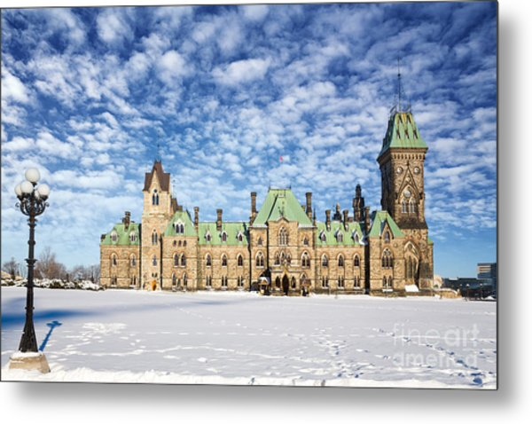 Ottawa Parliament East Block Metal Print
