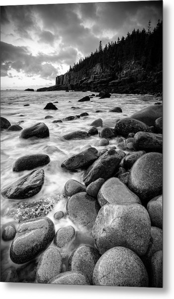 Otter Cliffs - Acadia National Park Metal Print