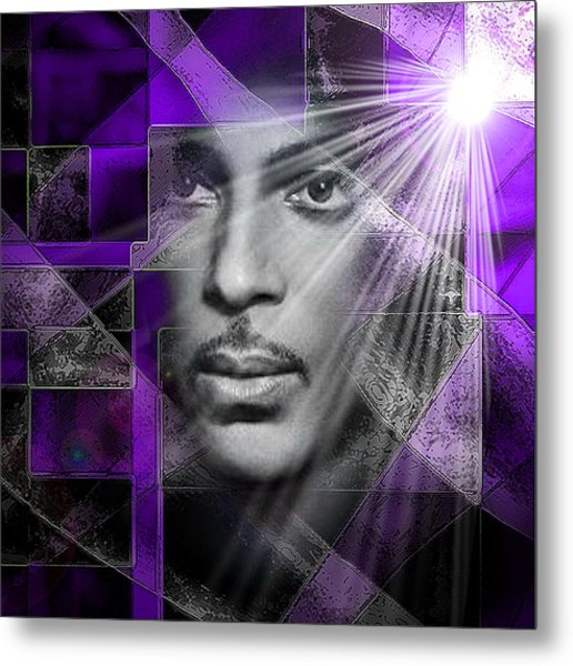 Our Beautiful Purple Prince Metal Print