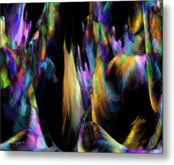 Our Colorful Planet Metal Print
