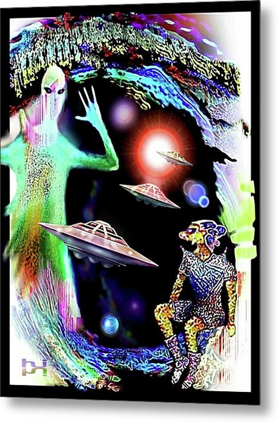 Our Fellow Space Citizens Metal Print