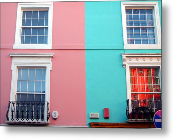Our House Is A Very Very Very Fine House Metal Print by Jez C Self