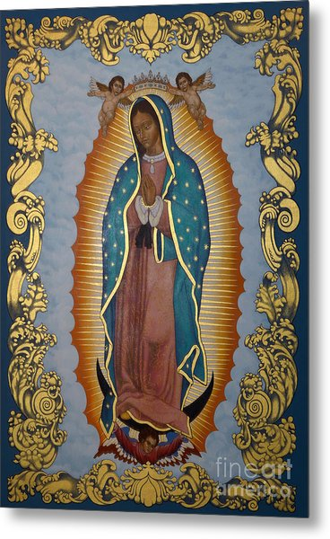 Our Lady Of Guadalupe - Lwlgl Metal Print