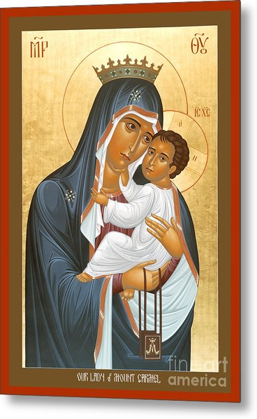 Our Lady Of Mount Carmel - Rlolc Metal Print