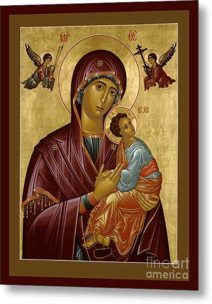 Our Lady Of Perpetual Help - Rloph Metal Print