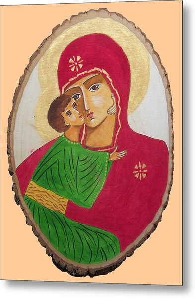 Our Lady Of Vladimir Metal Print