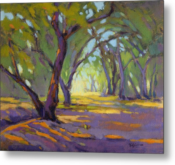 Metal Print featuring the painting Our Secret Place 4 by Konnie Kim