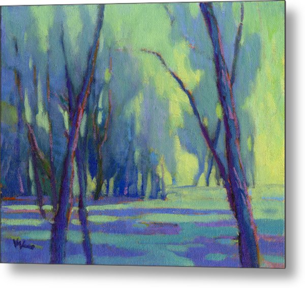Metal Print featuring the painting Our Secret Place 7 by Konnie Kim
