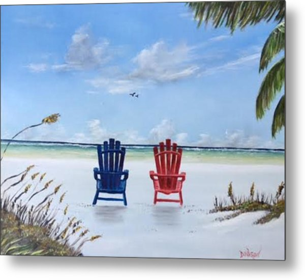 Our Spot On Siesta Key Metal Print