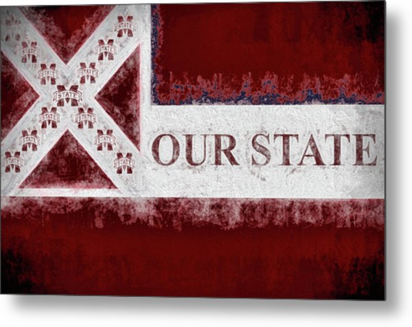 Our State Metal Print by JC Findley