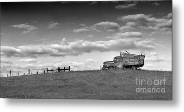 Out For Delivery In Floyd Virginia Metal Print