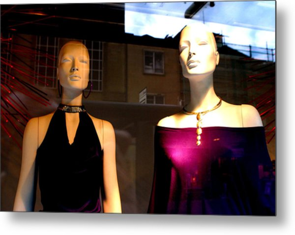 Out For The Evening Metal Print by Jez C Self