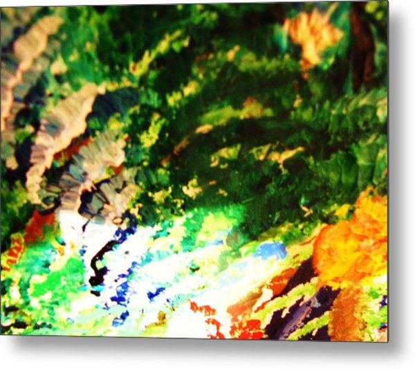 Out  Of Mind  Metal Print by HollyWood Creation By linda zanini