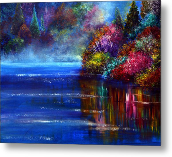 Out Of The Blue Metal Print by Ann Marie Bone