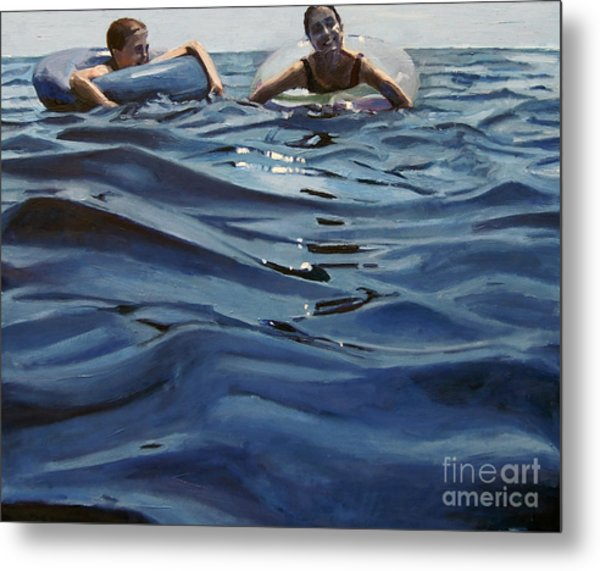 Out Of The Blue Metal Print by Deb Putnam