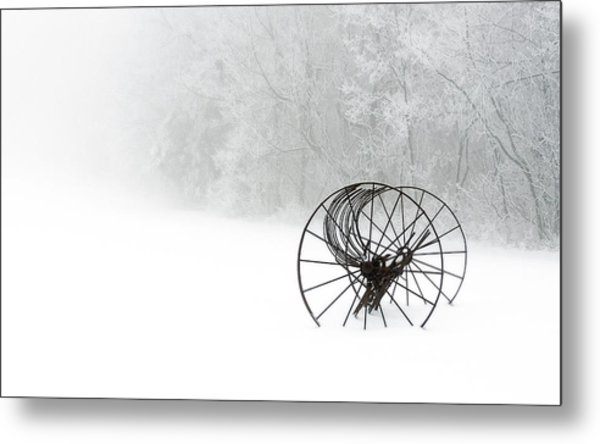 Out Of The Mist A Forgotten Era 2014 II Metal Print