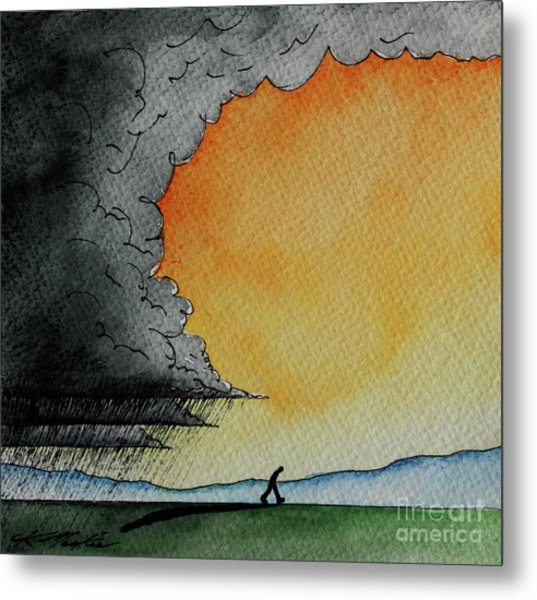 Out Of The Storm Iv Metal Print