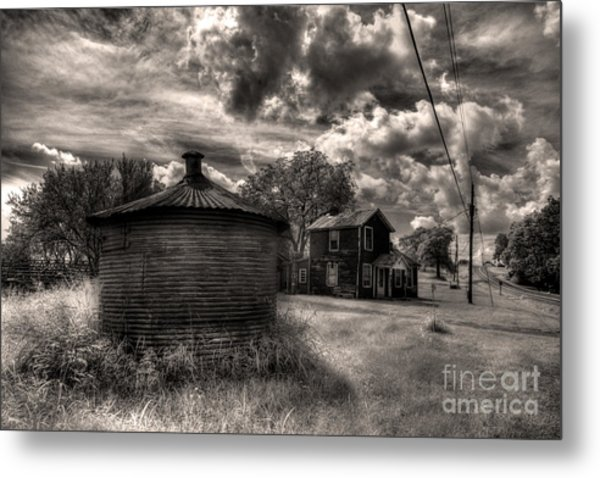 Out On T Metal Print