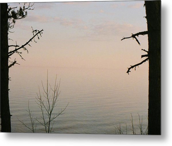 Out There.....that Way.... Metal Print by C E McConnell