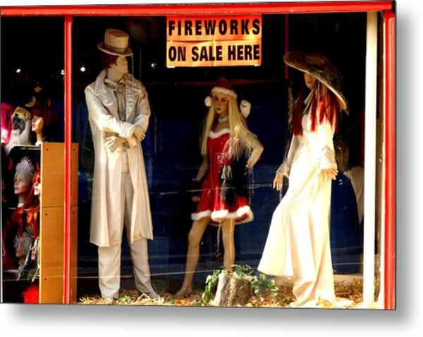 Out With A Bang Metal Print by Jez C Self