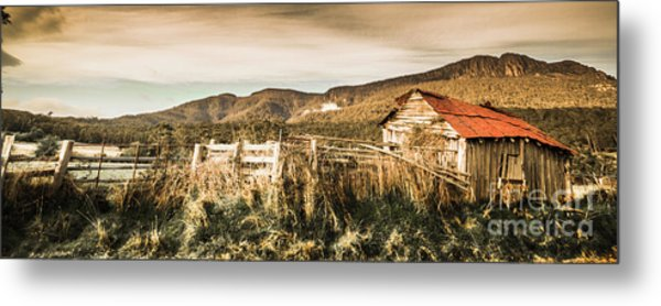 Outback Obsolescence  Metal Print