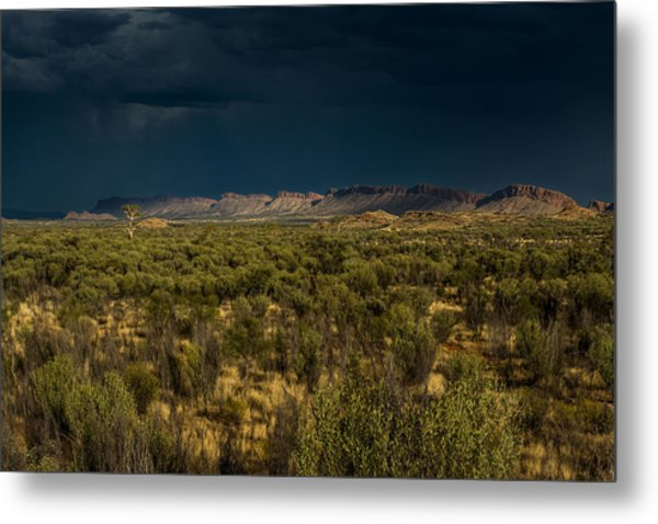 Outback Storm Metal Print