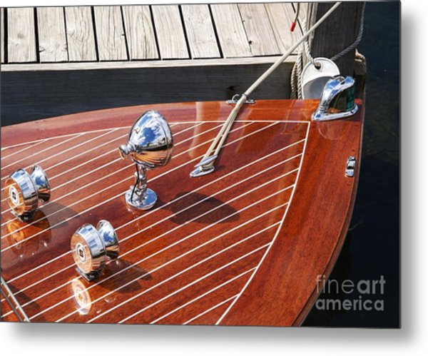Outboard Runabout Metal Print