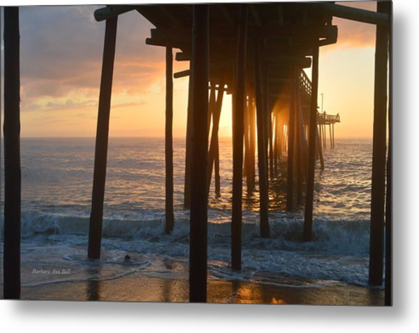 Outer Banks Pier 7/6/18 Metal Print