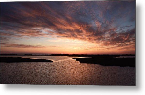 Outer Banks Sunrise Metal Print
