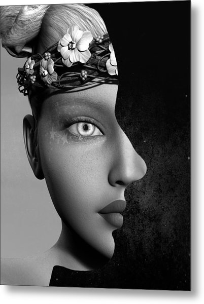 Outer Persona Metal Print
