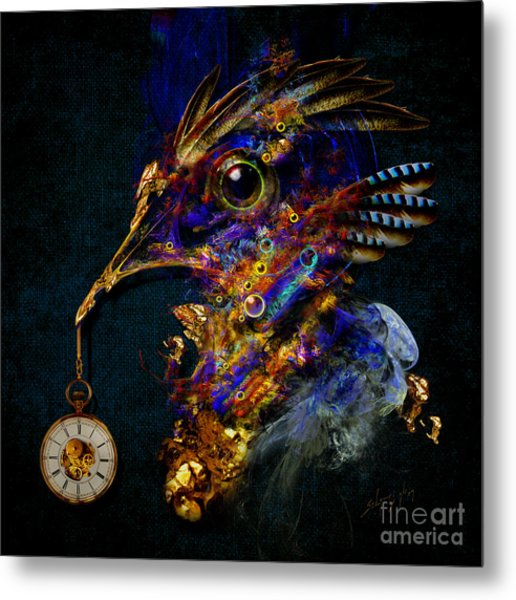 Outside Of Time Metal Print