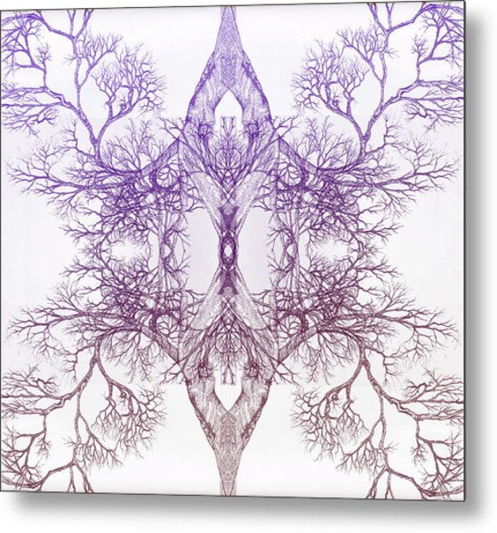 Outward Tree 9 Hybrid 4 Metal Print