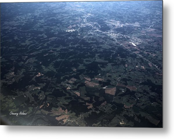 Over Florida Metal Print by Chauncy Holmes