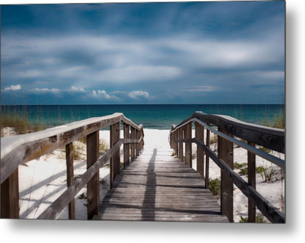 Over The Sand Metal Print
