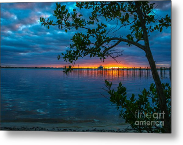 Metal Print featuring the photograph Overcast Sunrise by Tom Claud
