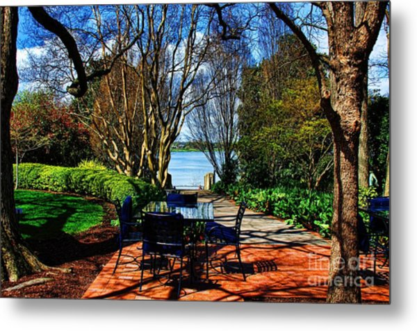 Overlook Cafe Metal Print