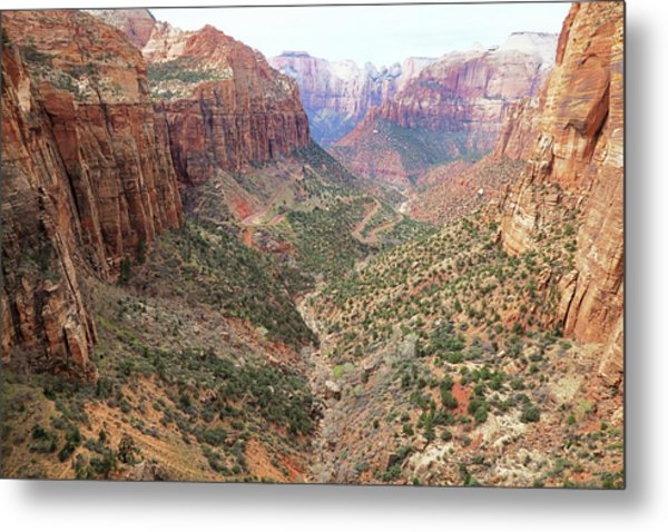 Overlook Canyon Metal Print