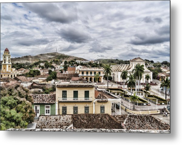 Overlook Trinidad Metal Print