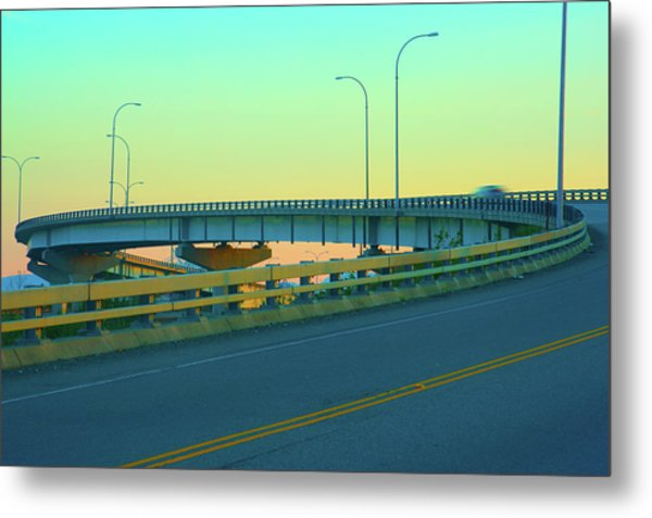 Overpass Metal Print by Paul Kloschinsky